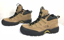 The North Face Women Tan Brown Leather Hiking Ankle Boots US 6 Excellent