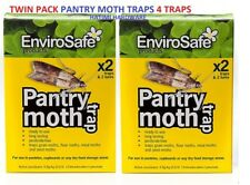 Envirosafe Pantry Moth Trap & Lure Natural Pesticide Free Twin Pack 4 TRAPS