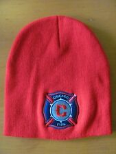 Chicago Fire Soccer Club Major League Soccer MLS Beanie Woolie Futbol Football