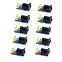 10Pcs DC Socket Plug Module Power Adapter Board for Arduino 5.5*2.1mm