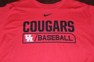 NEW NIKE Houston Cougars Baseball Tee T-Shirt XXXL 3XL TOP QUALITY NICE!