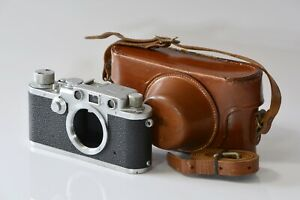 [Near Mint]Leica IIIf 3F 1951 Black Dial Ernst Leitz Body w/ Leather Case L168
