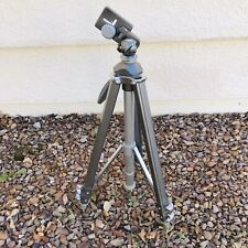 """Hollywood Chicago Vintage Camera Tripod 50"""" Metal Stand Photo Mount 3 Section"""
