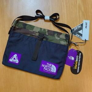 The North Face x Palace Skateboards Mens Purple Shoulder Bag Limited Edition