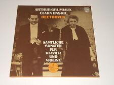 Arthur Grumiaux - Violin - SEALED 4LP Box - BEETHOVEN - Sonatas - Clara Haskil