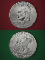 1972 S 40% Silver Uncirculated Eisenhower Dollar Ike Combined Shipping