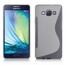 Coque Souple Silicone Gel Motif S-Line Pour Samsung Galaxy A7/ A7 Duos SM-A700F