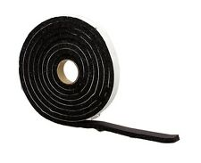 Md building products inc 06619 3/8x1/2x10 Black Sponge Rubber Tape