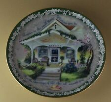 REJOICE IN THE SMALL THINGS Plate Welcome Home Glenna Kurz Flowers #4 Floral