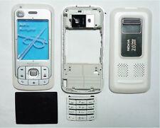 Full Housing cover fascia facia faceplate case for Nokia 6110n 6110 white case