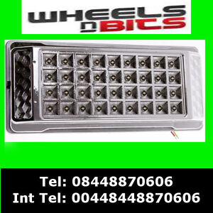 36 led Intorior Light for Renault Nissan and Vauxhall Panel Van's 12 Volts White