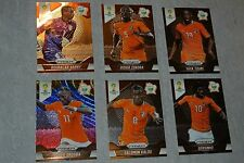 Lot of 3 2014 Panini Prizm DIDIER DROGBA Red Blue Wave Refractor IVORY COAST + 6