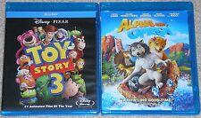 Kids Blu-ray Disc Lot - Alpha and Omega & Disney Pixar Toy Story 3