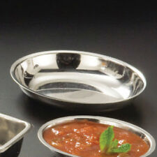 Stainless Steel Oval Sauce Cup - 1-1/2 oz. Capacity