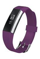 NEW Fitbit Alta Fitness Wristband Activity Tracker Large - Plum