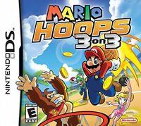 Mario Hoops 3 On 3 - Nintendo DS