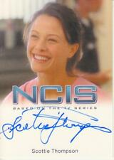 NCIS Premium Release by Rittenhouse - Scottie Thompson  Autograph Trading Card