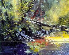 Art Forest Ceramic Tile Mural Backsplash Bath Landscape  #186
