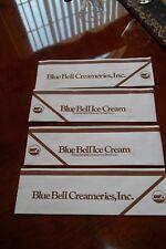 Lot Of 4 Blue Bell Ice Cream 50`s Style Soda Jerk Ice Cream Hats
