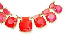 Kate Spade Cause A Stir Necklace  NWT M0dern Chic Design Pink Beauty
