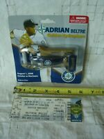 SEATTLE MARINERS MLB Baseball Golden Hydroplane Adrian Beltre 2008 with ticket