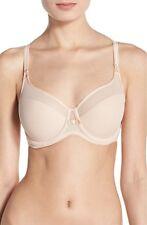NWOT Chantelle Intimates 1296 Aeria Underwire Spacer Bra, Nude Blush 34DDD -$78