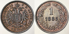 1 KREUZER 1885 AUSTRIA OSTERREICH #3609