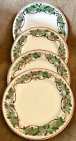 4 - Royal Gallery Macys ALL THE DAYS OF CHRISTMAS Salad Dessert Plates