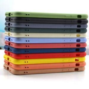 Liquid Coque Silicone Pour IPHONE 11 12 Pro Max 8 7 XR XS Se 2020 Arrière Housse