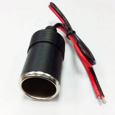 1pc Car 12V 5A Cigar Female Cigarette Lighter Socket Plug Connector Adapter