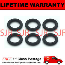 FOR AUDI 3.0 DIESEL INJECTOR LEAK OFF ORING SEAL SET OF 6 VITON RUBBER UPGRADE