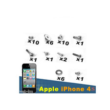 IPHONE 4S SET KIT VITI COMPLETO SCREW 39 PEZZI