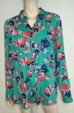Viscose Long Sleeve Hand-wash Only Floral Tops for Women