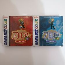 The Legend of Zelda Oracle of Seasons & Oracle of Ages - Game Boy Color - PAL