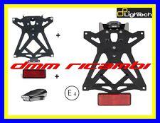 Lightech Porta Targa regolabile con CATADIOTTRO Yamaha T-max senza Sottocodone (