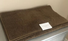 "RESTORATION HARDWARE TURKISH COTTON LOOP BATH RUG MOCHA BROWN 30"" X 72"" NWT"