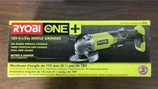 Ryobi P421 18V 18-Volt ONE+ 4-1/2 in. 3-position side handle Angle Grinder