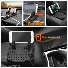 Car Holder Dashboard Mount Magnetic Charger Cradle Pad For Android ISO Non-Slip