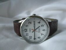 Timex Men's Classy Water Resistant Wristwatch w/ Adjustable Band WORKING!