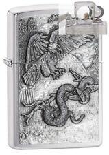 Zippo 29637 Eagle Versus Snake Emblem Lighter with PIPE INSERT PL