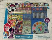 My Little Pony Creativity Set 300 Pieces Stickers Paint Crayons Mega Set MLP