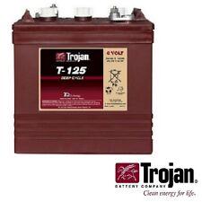 NEW Trojan T-125 6V 6 Volt Golf Cart Battery RV marine solar deep cycle T125