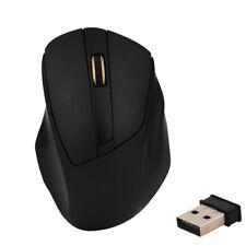 portatile 2.4GHz Wireless Mouse da GIOCHI 1600 DPI Ottico con USB RICEVITORE UK