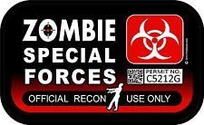 """1 - 3"""" x 5"""" Special Forces Official Use Spotter Decal Sticker Window Car 1289"""