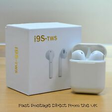 New i9S Wireless V4.2 Earbuds TWS Earpods Headphones 2018 Version IOS & Android