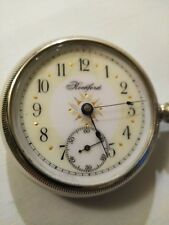 RARE (1890) 16S. Rockford 15 jewel adjusted fancy dial grade 111 ONLY MADE 700