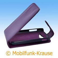 Flip Case Etui Handytasche Tasche Hülle f. Samsung Galaxy Pocket 2 (Violett)