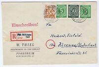 All.Bes./Gemeinsch.Ausg.Mi. 932 u.a., Not-R-Pforzheim-Brötzingen, 14.9.47, AKS