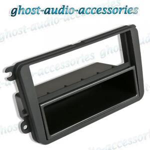 VW Single DIN Car CD Stereo Radio Facia Fascia Surround Adaptor Plate Panel