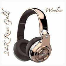 Monster Beats By Dre 24K Rose Gold Headphones Limited Edition New Wireless Meek